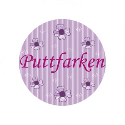 Button Puttfarken von Lütt Stina